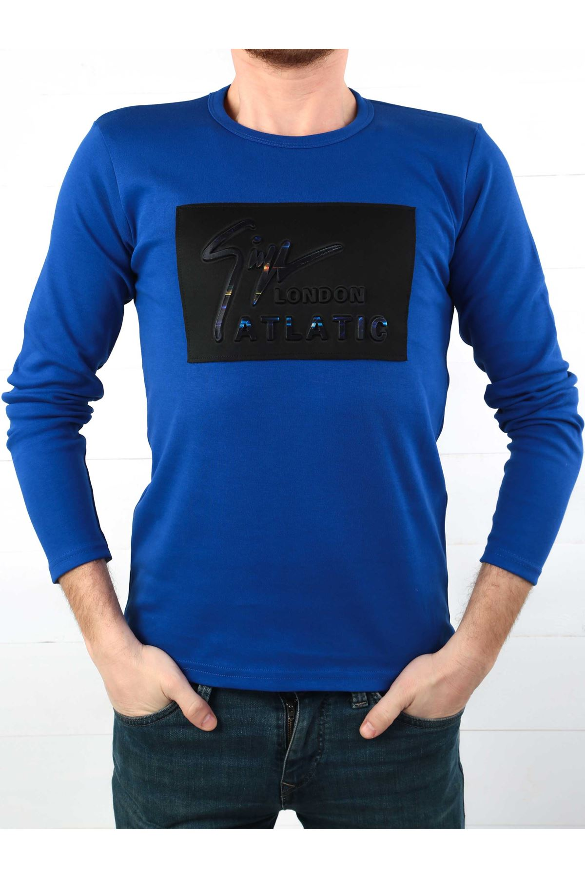 Sax İnterlok Erkek Sweatshirt
