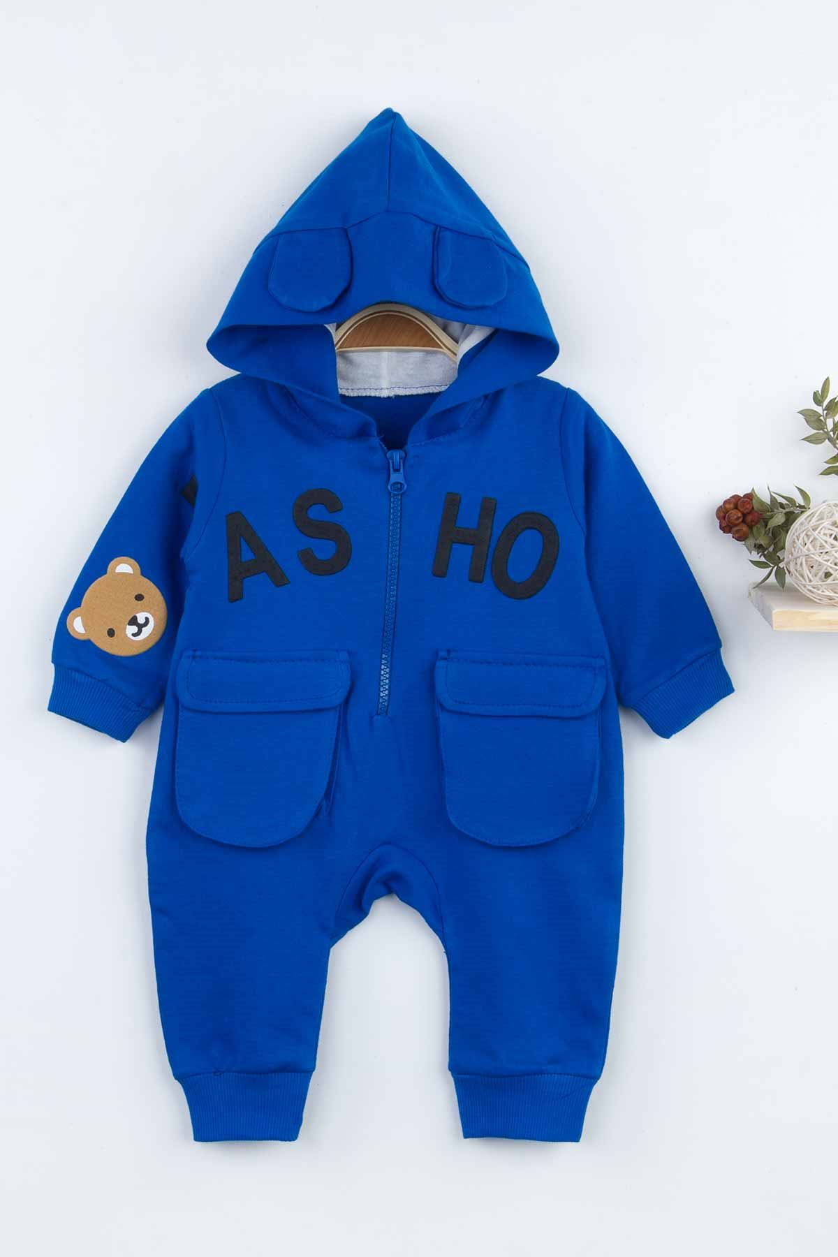 Sax Hooded Baby Boy Rompers Fashion 2021 New Season Style Babies Clothes Outfit Cotton Comfortable Underwear for Boys Baby Models