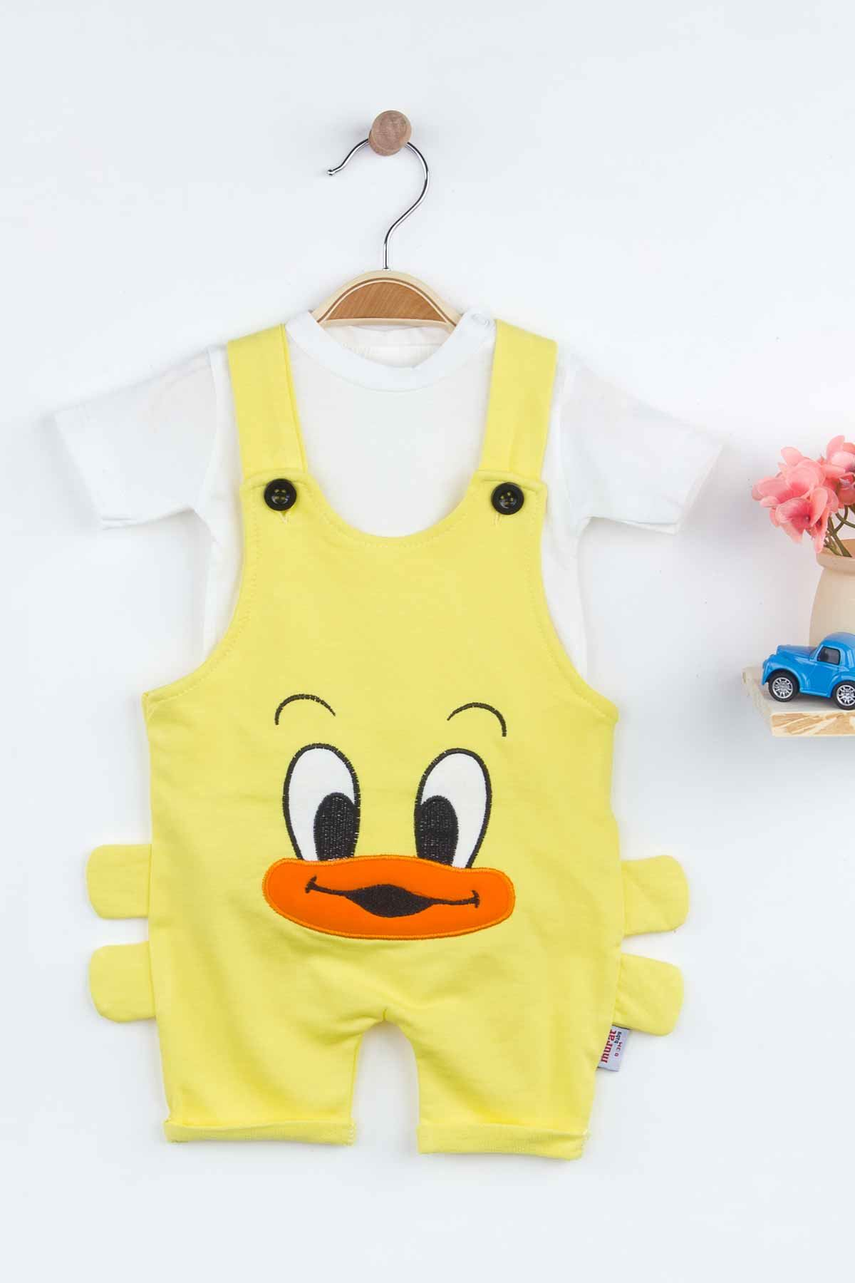 Yellow Baby Boy Rompers Summer Salopet Fashion New Season Style Babies Clothes Outfit Cotton Comfortable Underwear for Boys Baby