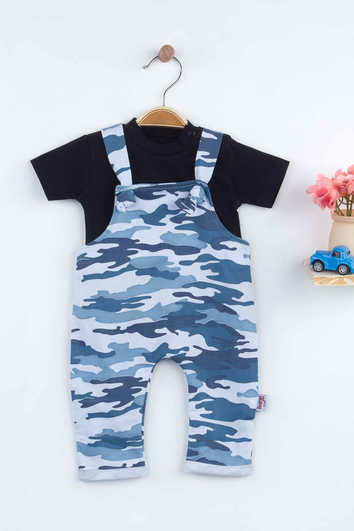 Blue camouflage Baby Boy Rompers Fashion 2021 Summer New Season Style Babies Clothes Outfit Cotton Comfortable Underwear for Boys Baby
