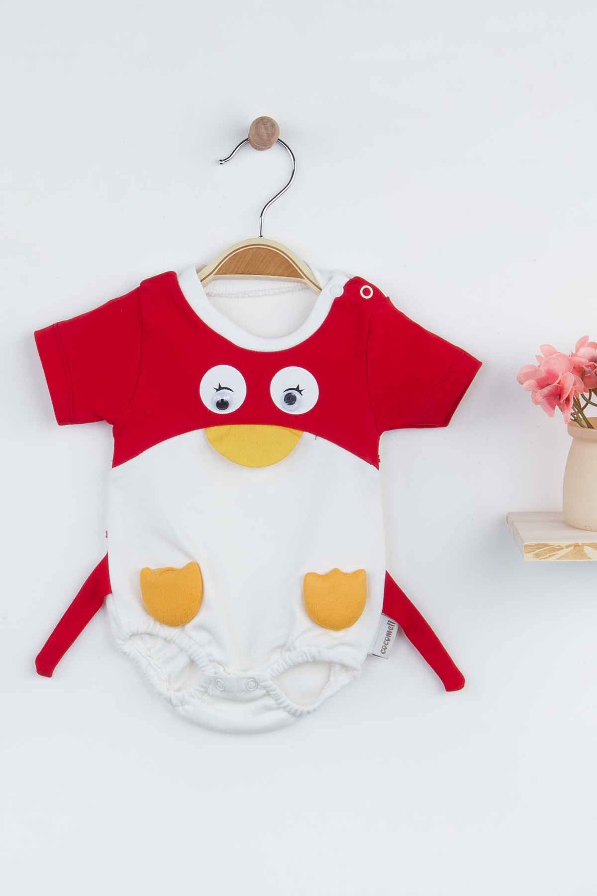 Red Penguin Summer Baby Boy Rompers Fashion 2021 New Season Style Babies Clothes Outfit Cotton Comfortable Underwear for Boys Baby