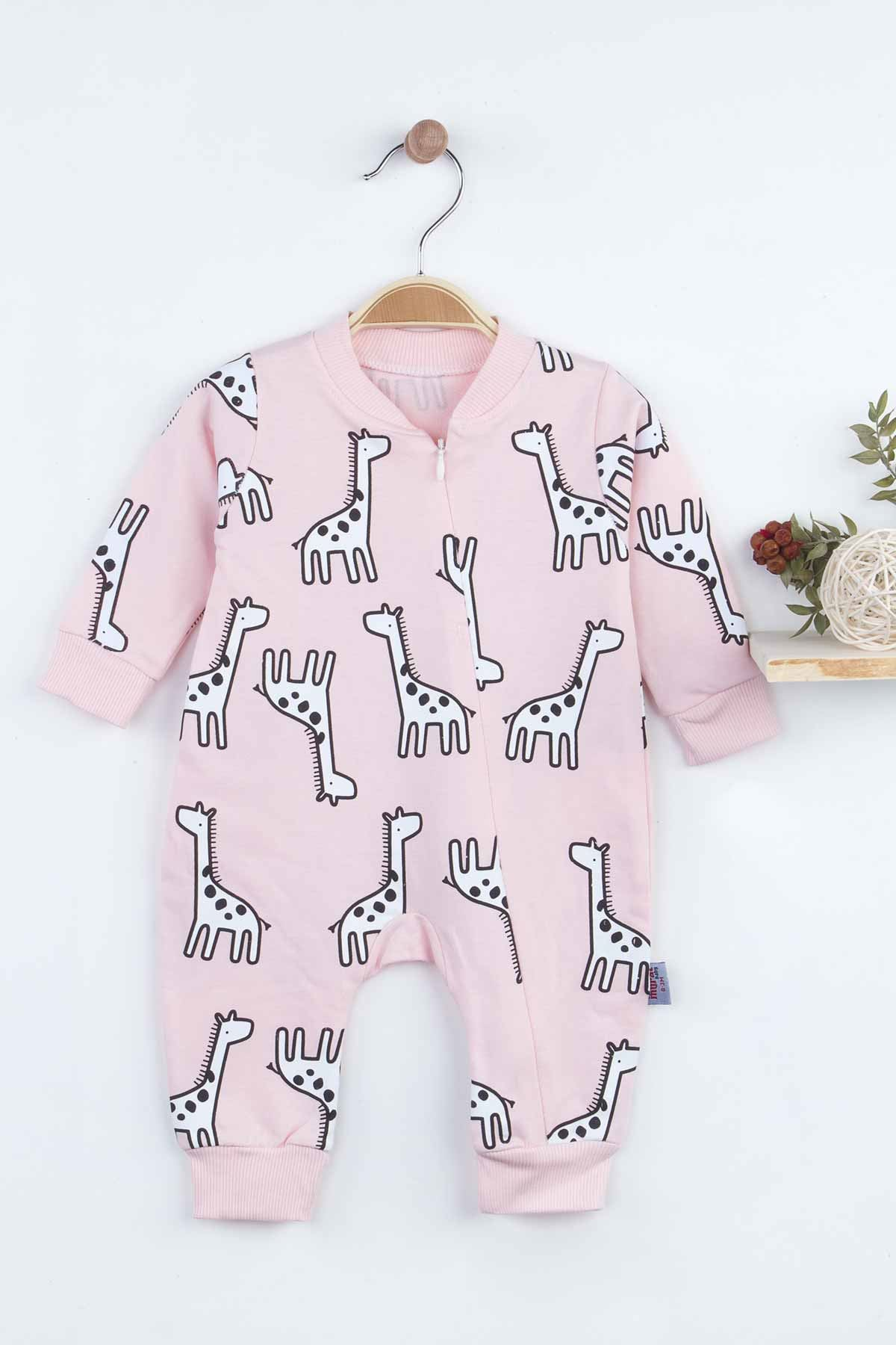 Pink Baby Girl Rompers Babies Clothes Set Outfit Cotton Comfortable Underwear 2021 New Season Girls Salopet Model