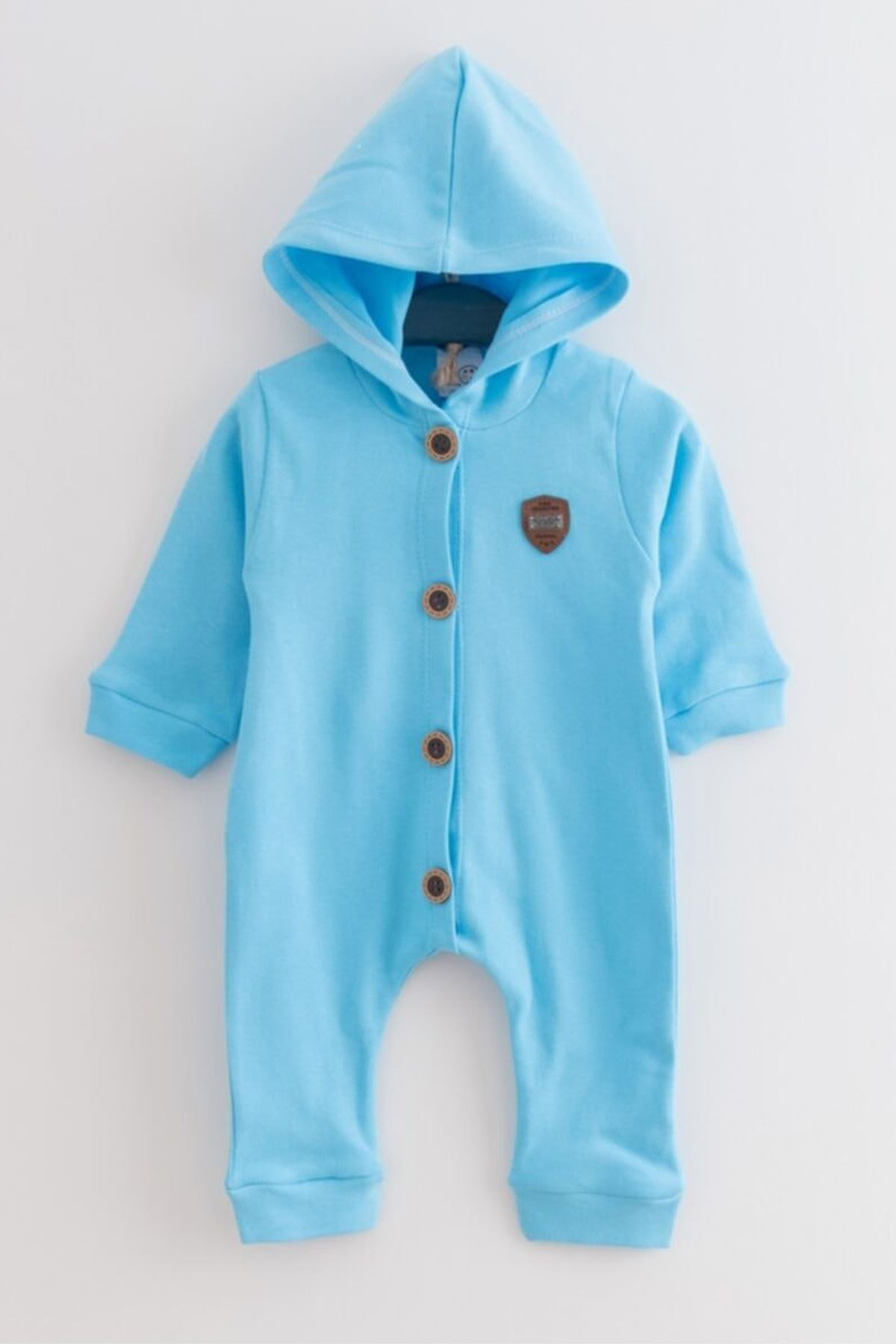 Blue Baby Boy Rompers Hooded Baby Boy Male Clothes Outfit Models Cotton Casual 2021 Kids Baby Fashion Style Models