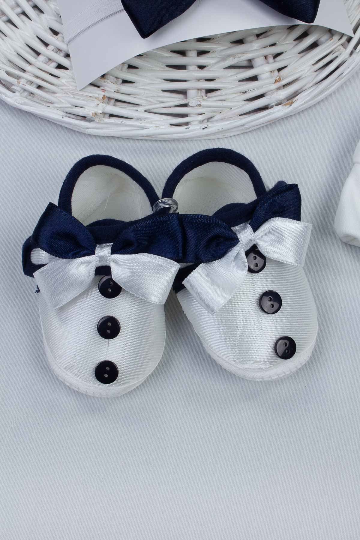 Baby girl boy mother special day Sets babies gift set birth baby shoes mother slipper with stone crown bow tie newborn models