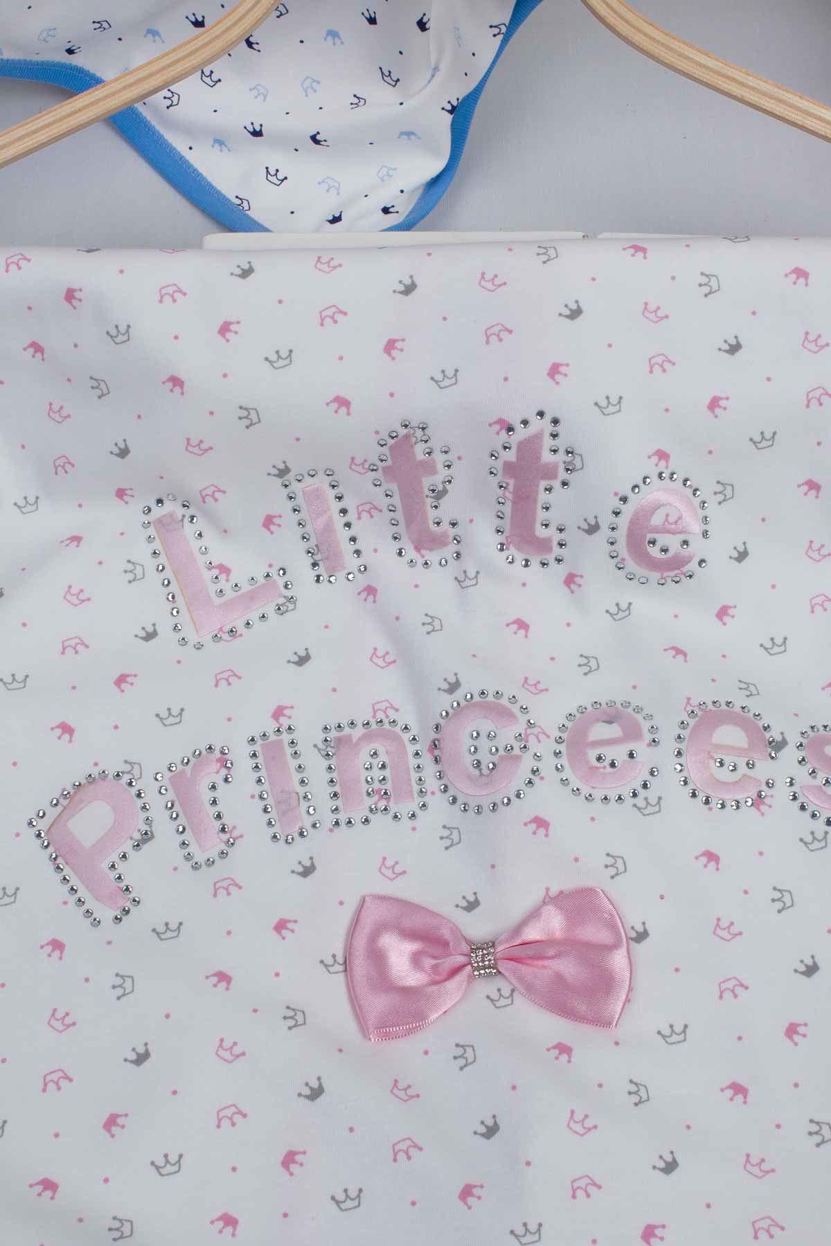 Pink Girl Baby Blanket Lıtte Queen Girls Babies Newborn Cotton Soft Antibacterial Infants Girls Princess 80*85 Cm Blankets model