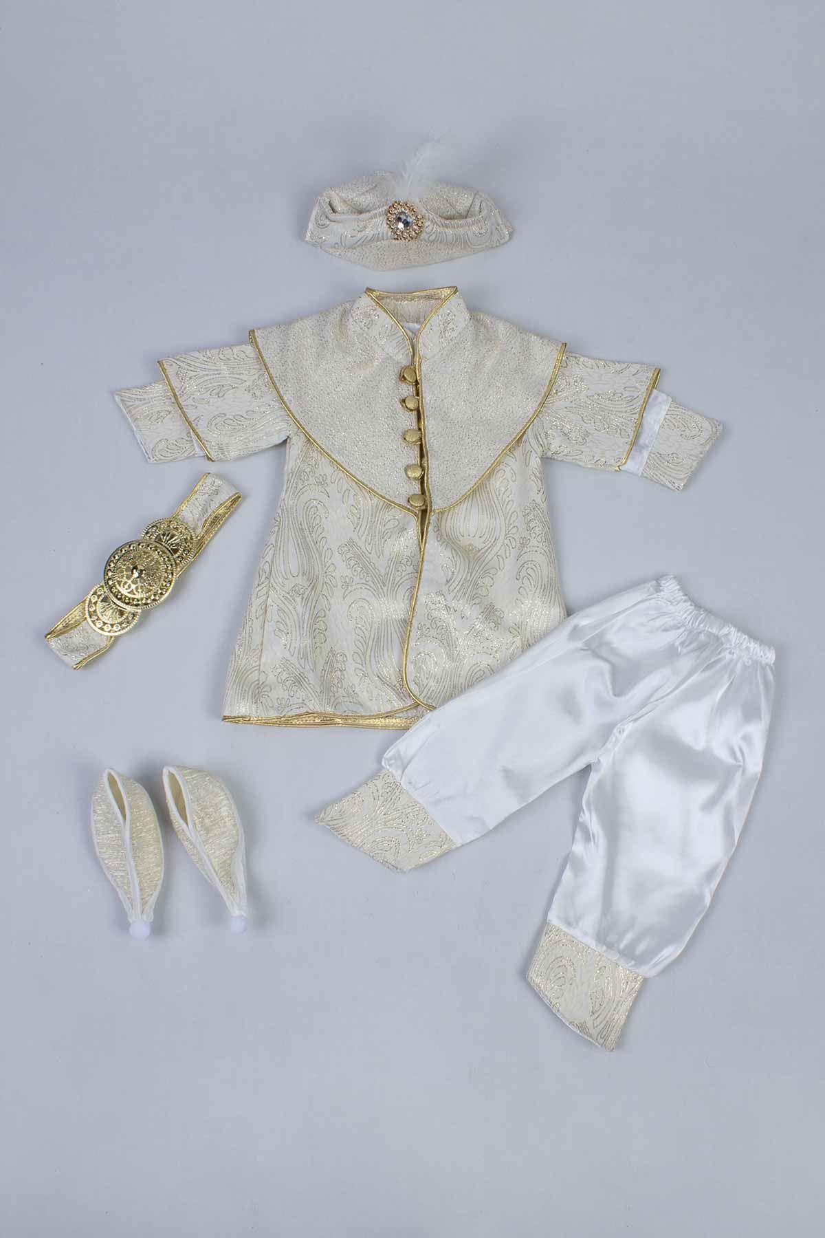 Sarı Erkek Bebek 6 lı Şehzade Takım