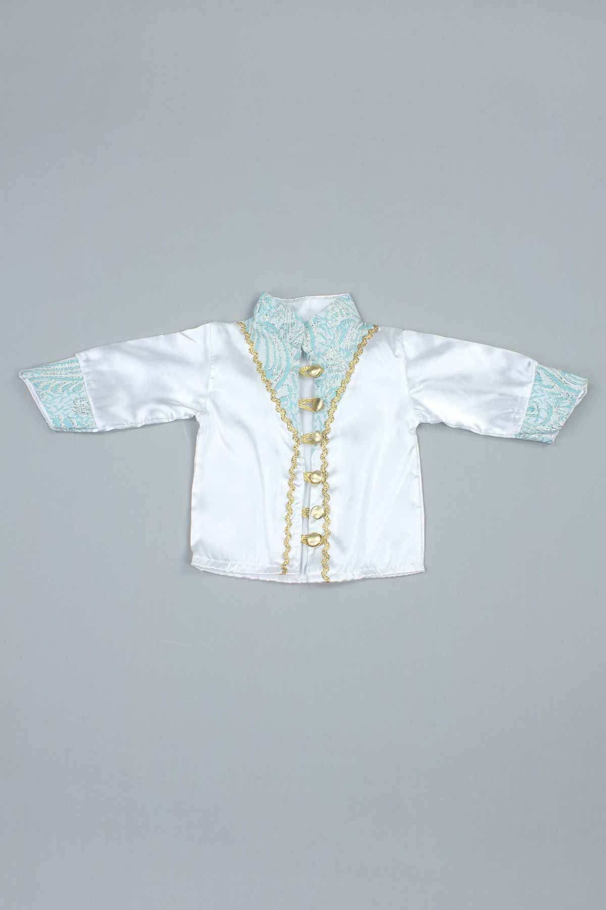 Blue Baby Boy 6  Prince Suit