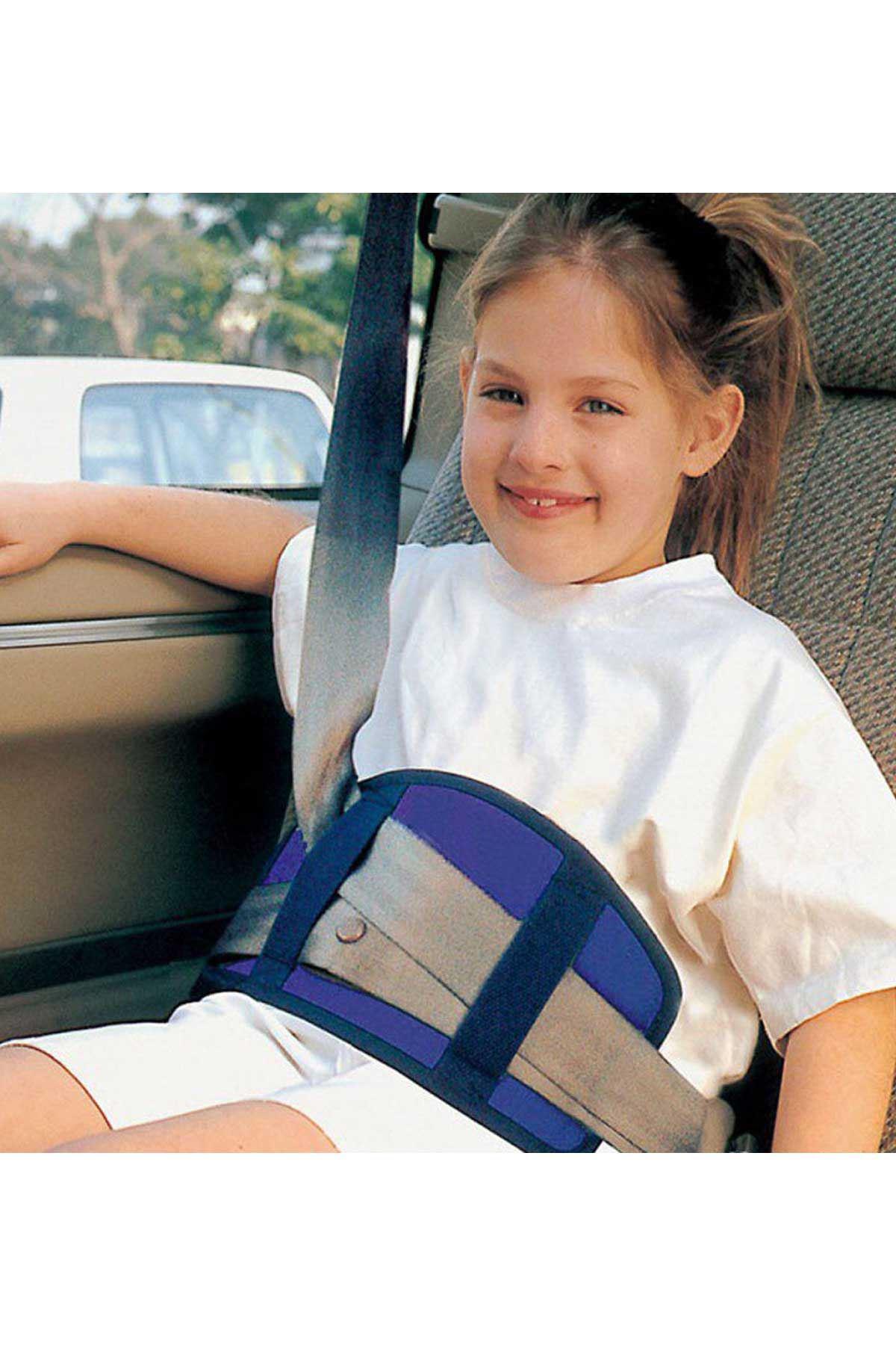 Mavi Bundera Soft Çocuk Emniyet Kemeri Düzenleyici Oto Emniyet Kemeri Tutucu