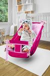 Pink Bundera Kids Baby Sleeping Swing Wooden Hammock Cradle Swing